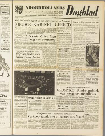 Noordhollands Dagblad : dagblad voor Alkmaar en omgeving 1959-05-14
