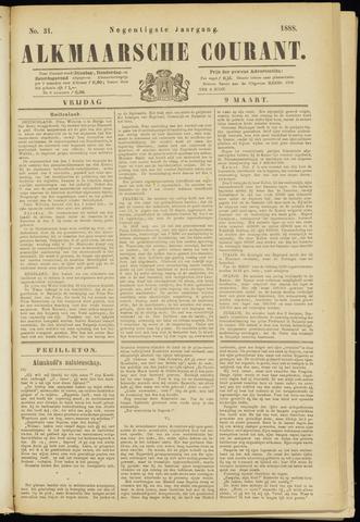 Alkmaarsche Courant 1888-03-09