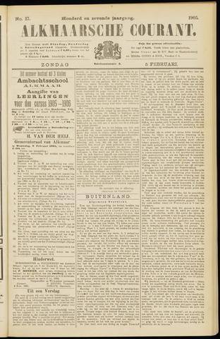 Alkmaarsche Courant 1905-02-05