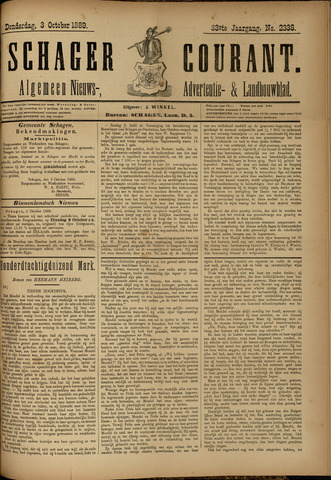 Schager Courant 1889-10-03