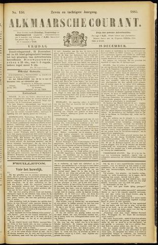 Alkmaarsche Courant 1885-12-18