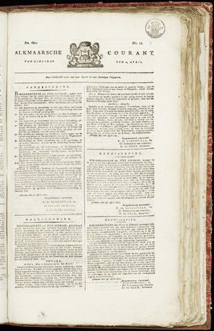 Alkmaarsche Courant 1821-04-24