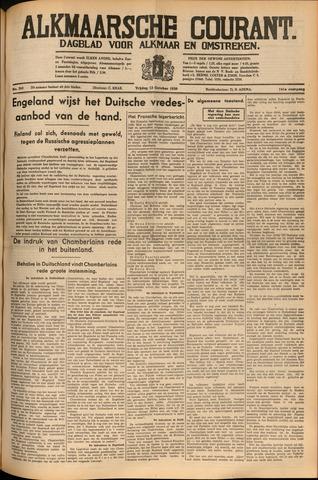 Alkmaarsche Courant 1939-10-13