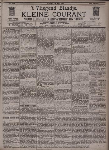 Vliegend blaadje : nieuws- en advertentiebode voor Den Helder 1897-04-28