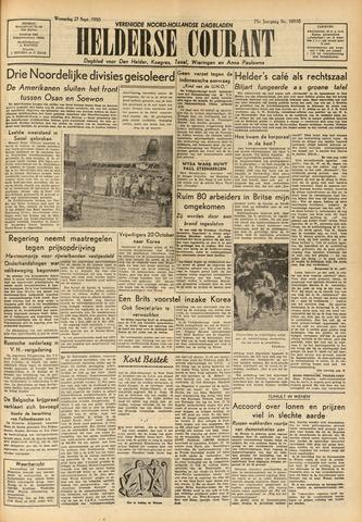 Heldersche Courant 1950-09-27