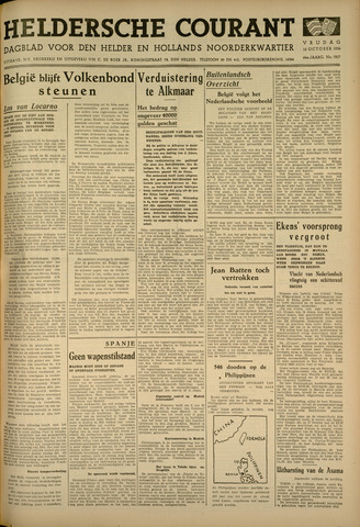 Heldersche Courant 1936-10-16