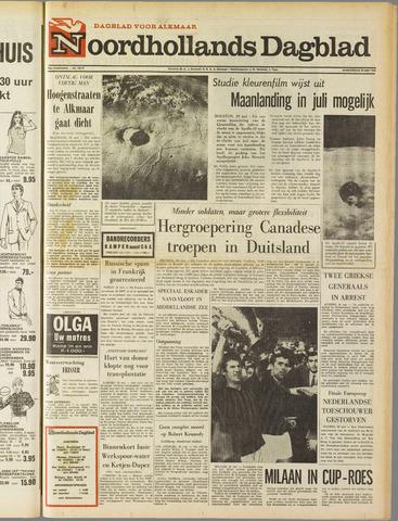 Noordhollands Dagblad : dagblad voor Alkmaar en omgeving 1969-05-29