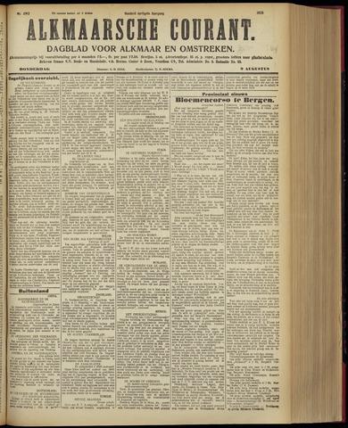 Alkmaarsche Courant 1928-08-09