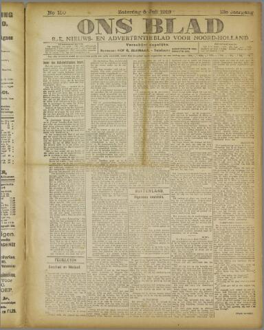 Ons Blad : katholiek nieuwsblad voor N-H 1919-07-05