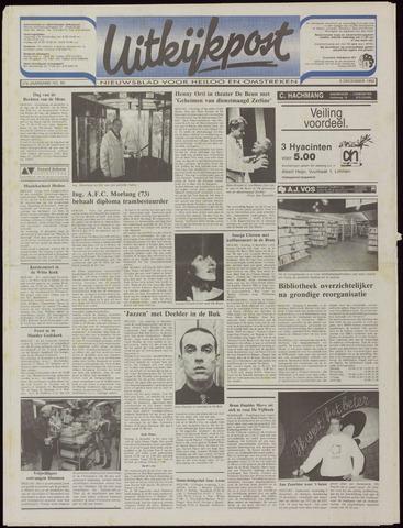 Uitkijkpost : nieuwsblad voor Heiloo e.o. 1992-12-09