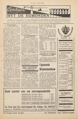 Contact met de Egmonden 1964-07-16