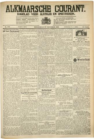 Alkmaarsche Courant 1930-11-27