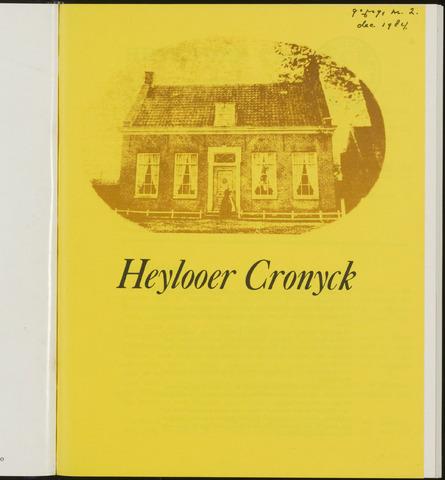 Heylooer Cronyck 1984-12-01