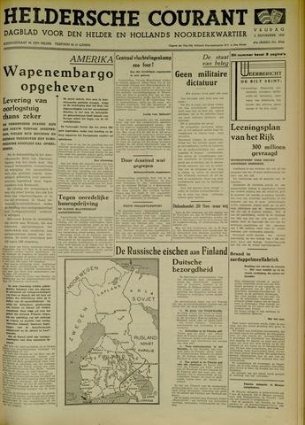 Heldersche Courant 1939-11-03