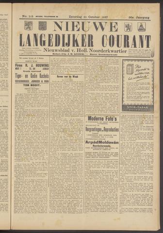 Nieuwe Langedijker Courant 1927-10-22