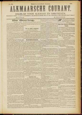 Alkmaarsche Courant 1915-12-20