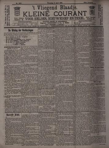 Vliegend blaadje : nieuws- en advertentiebode voor Den Helder 1894-04-11