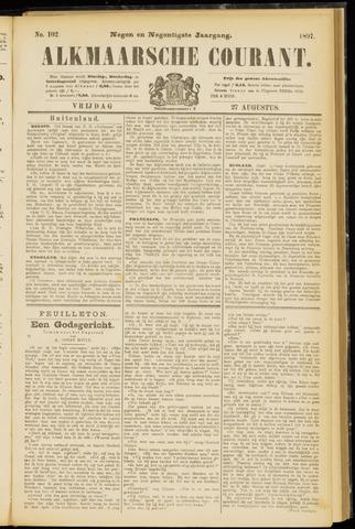 Alkmaarsche Courant 1897-08-27