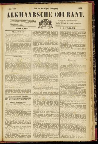 Alkmaarsche Courant 1884-10-08