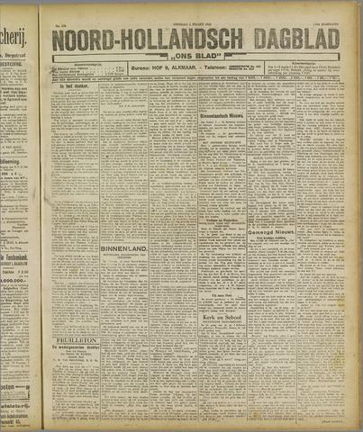 Ons Blad : katholiek nieuwsblad voor N-H 1921-03-01