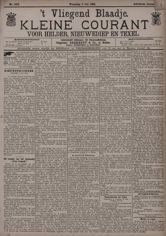 Vliegend blaadje : nieuws- en advertentiebode voor Den Helder 1890-07-02