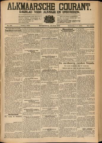 Alkmaarsche Courant 1930-07-24