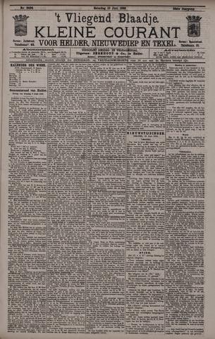 Vliegend blaadje : nieuws- en advertentiebode voor Den Helder 1896-06-13