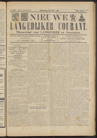 Nieuwe Langedijker Courant 1923-05-26