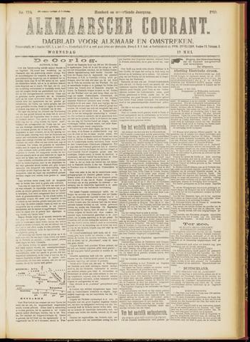 Alkmaarsche Courant 1915-05-12