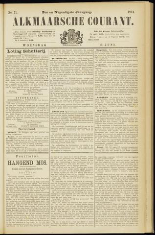 Alkmaarsche Courant 1894-06-13