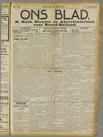 Ons Blad : katholiek nieuwsblad voor N-H 1911-05-13
