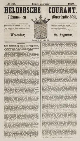 Heldersche Courant 1870-08-24