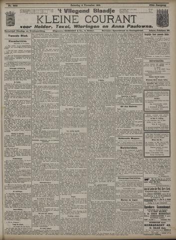 Vliegend blaadje : nieuws- en advertentiebode voor Den Helder 1909-11-06