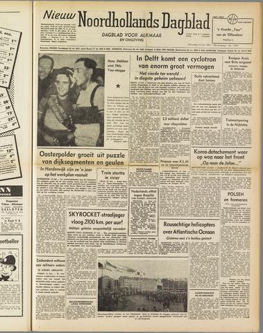 Nieuw Noordhollandsch Dagblad : voor Alkmaar en omgeving 1952-07-16