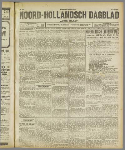 Ons Blad : katholiek nieuwsblad voor N-H 1922-08-09