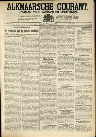 Alkmaarsche Courant 1934-08-13