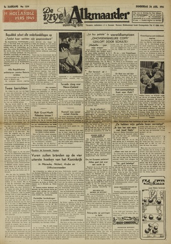 De Vrije Alkmaarder 1948-08-26
