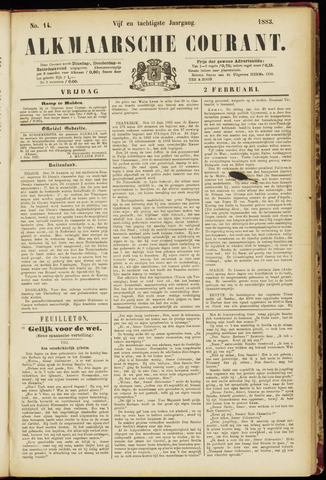 Alkmaarsche Courant 1883-02-02