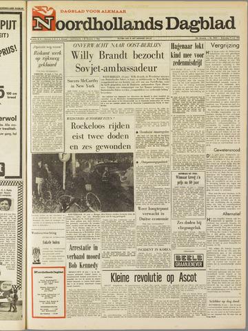 Noordhollands Dagblad : dagblad voor Alkmaar en omgeving 1968-06-19