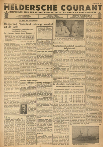 Heldersche Courant 1946-04-27