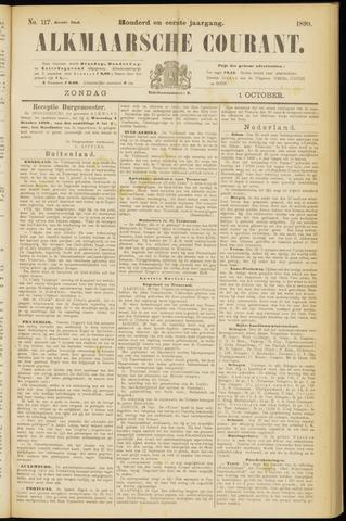Alkmaarsche Courant 1899-10-01