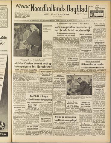 Nieuw Noordhollandsch Dagblad : voor Alkmaar en omgeving 1952-06-07