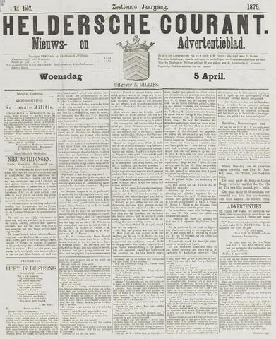 Heldersche Courant 1876-04-05