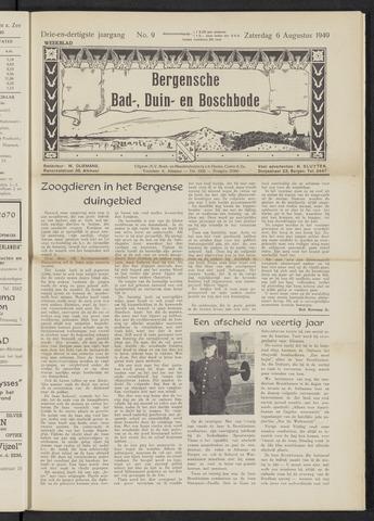 Bergensche bad-, duin- en boschbode 1949-08-06