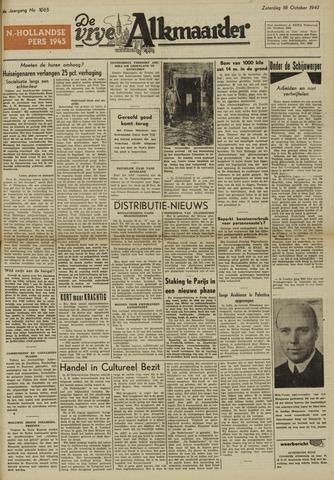 De Vrije Alkmaarder 1947-10-18