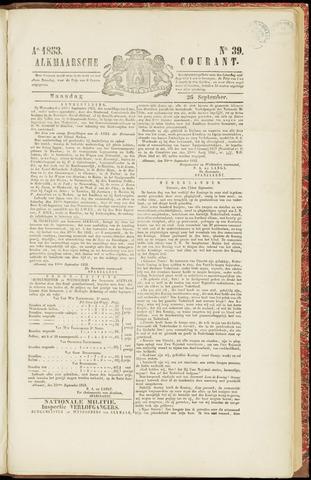 Alkmaarsche Courant 1853-09-26