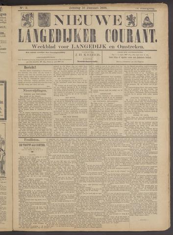 Nieuwe Langedijker Courant 1898-01-16