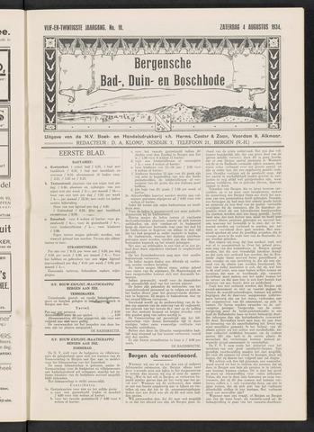 Bergensche bad-, duin- en boschbode 1934-08-04