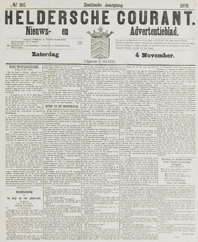 Heldersche Courant 1876-11-04