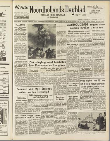 Nieuw Noordhollandsch Dagblad : voor Alkmaar en omgeving 1951-11-21
